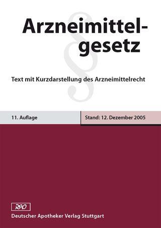Cover für 'Arzneimittelgesetz'