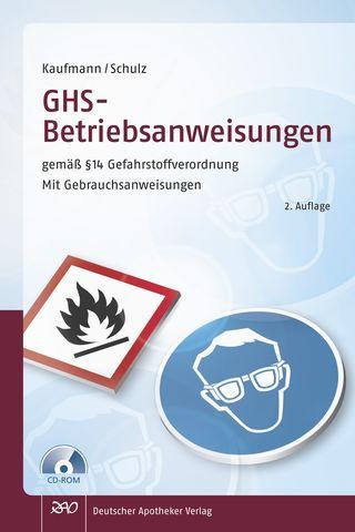 Cover für 'GHS - Betriebsanweisungen  gemäß § 14 Gefahrstoffverordnung'