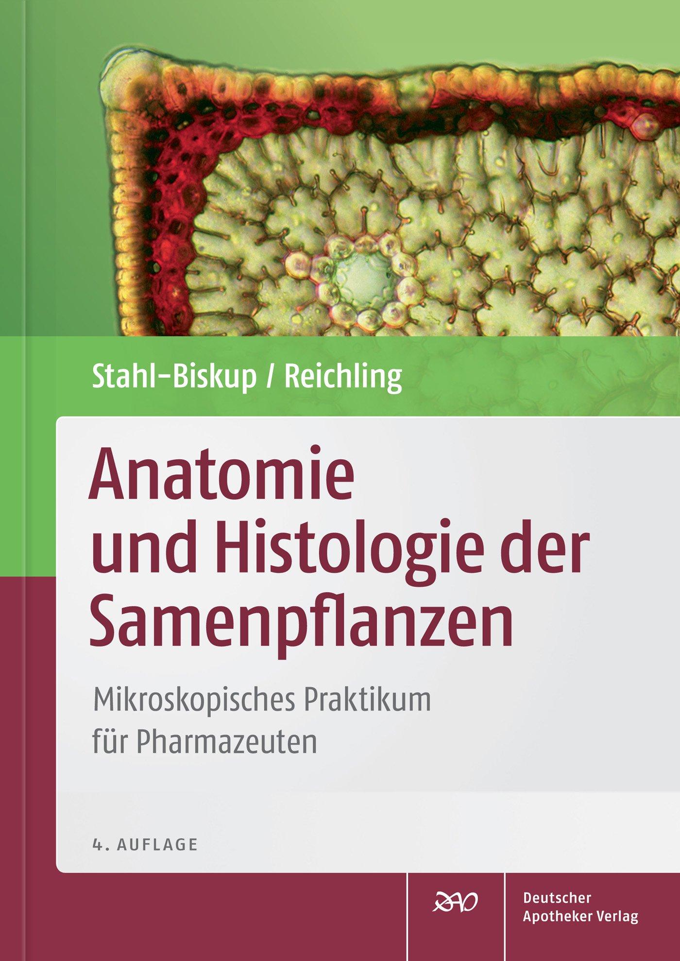 Cover für 'Anatomie und Histologie der Samenpflanzen'