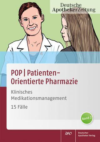 Cover für 'POP PatientenOrientierte Pharmazie'