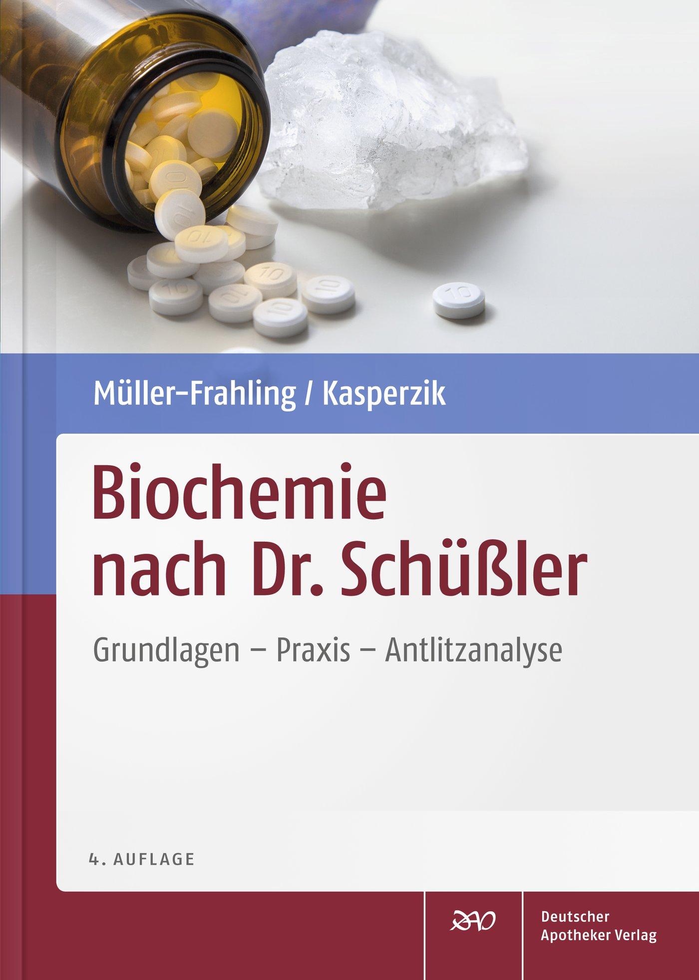 Cover für 'Biochemie nach Dr. Schüßler'