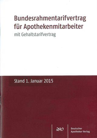 Cover für 'Bundesrahmentarifvertrag für Apothekenmitarbeiter'