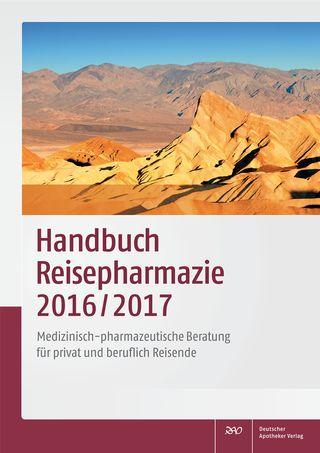 Cover für 'Handbuch Reisepharmazie 2016/2017'