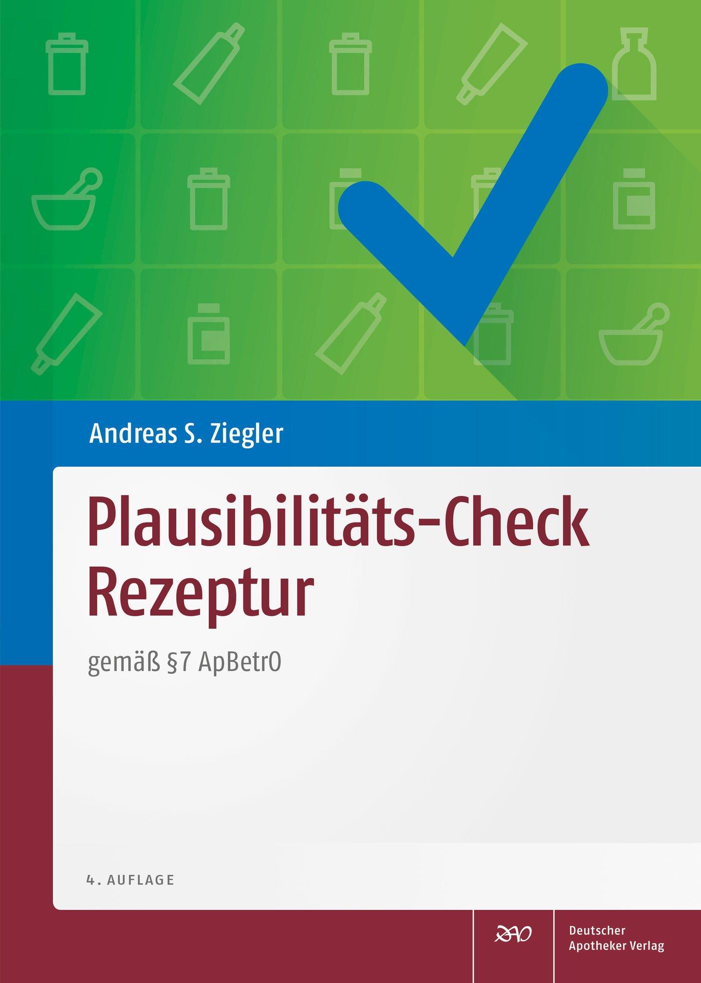 Cover für 'Plausibilitäts-Check Rezeptur'