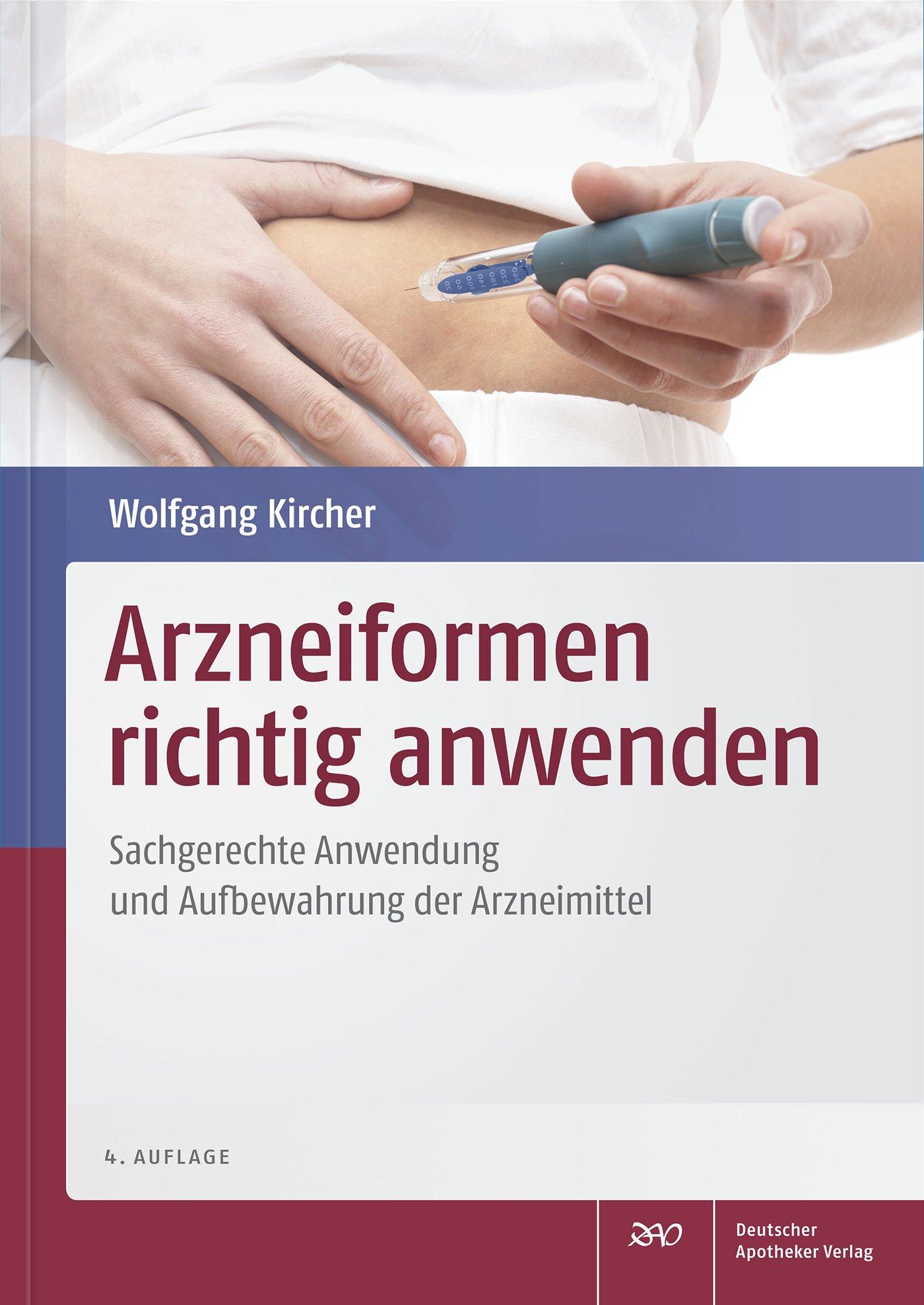 Cover für 'Arzneiformen richtig anwenden'
