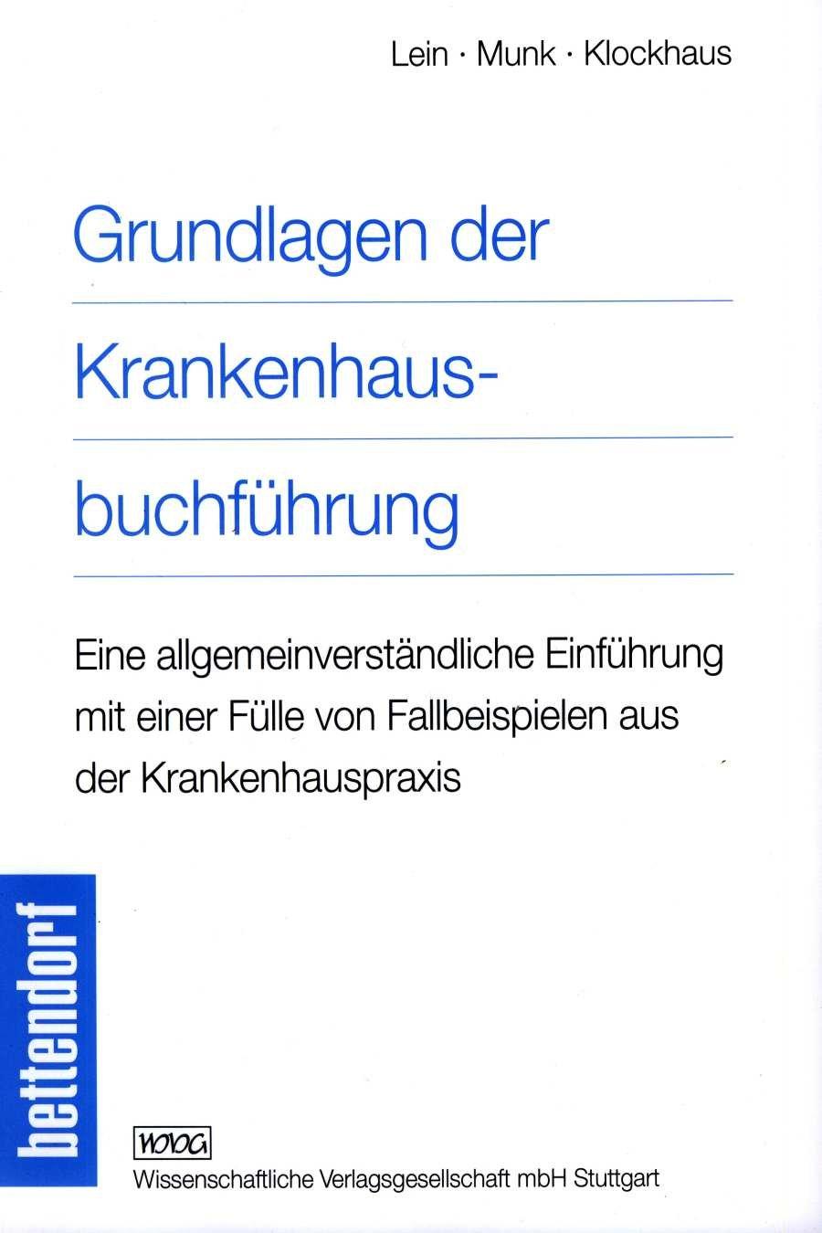 Cover für 'Grundlagen der Krankenhausbuchführung'