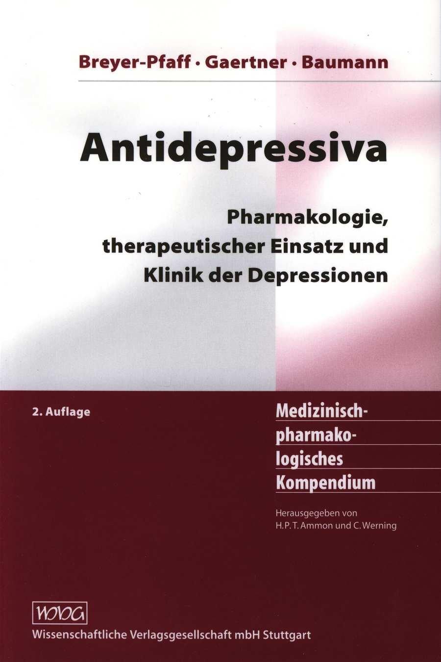 Cover für 'Antidepressiva'