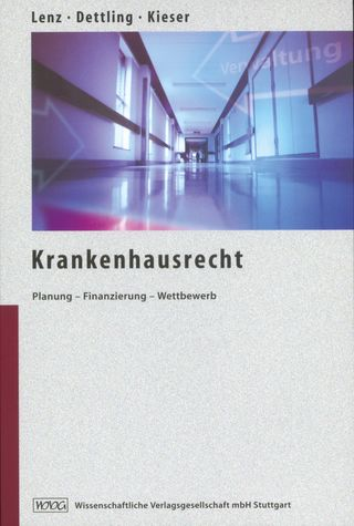 Cover für 'Krankenhausrecht'