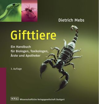 Cover für 'Gifttiere'