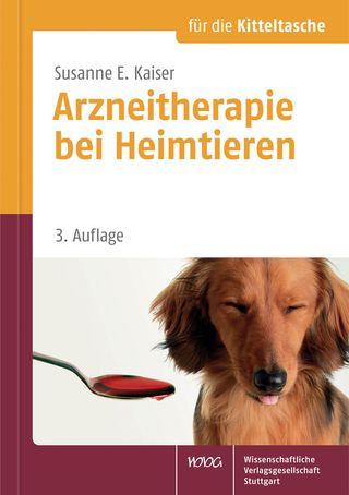 Cover für 'Arzneitherapie bei Heimtieren'