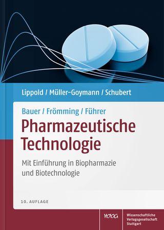 Cover für 'Bauer/Frömming/Führer Pharmazeutische Technologie'