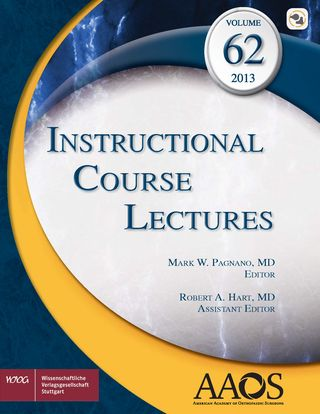 Cover für 'AAOS Instructional Course Lectures Volume 62'