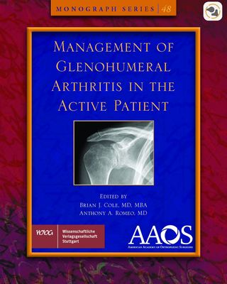 Cover für 'AAOS Management of Glenohumeral Arthritis in the Active Patient'