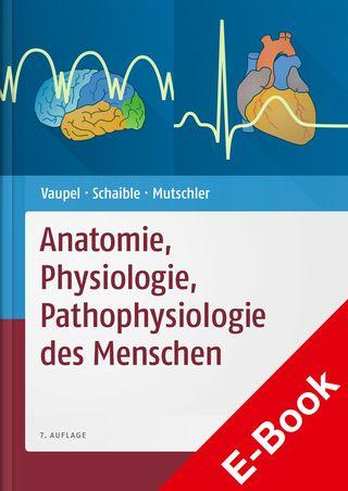 Cover für 'Anatomie, Physiologie, Pathophysiologie des Menschen'