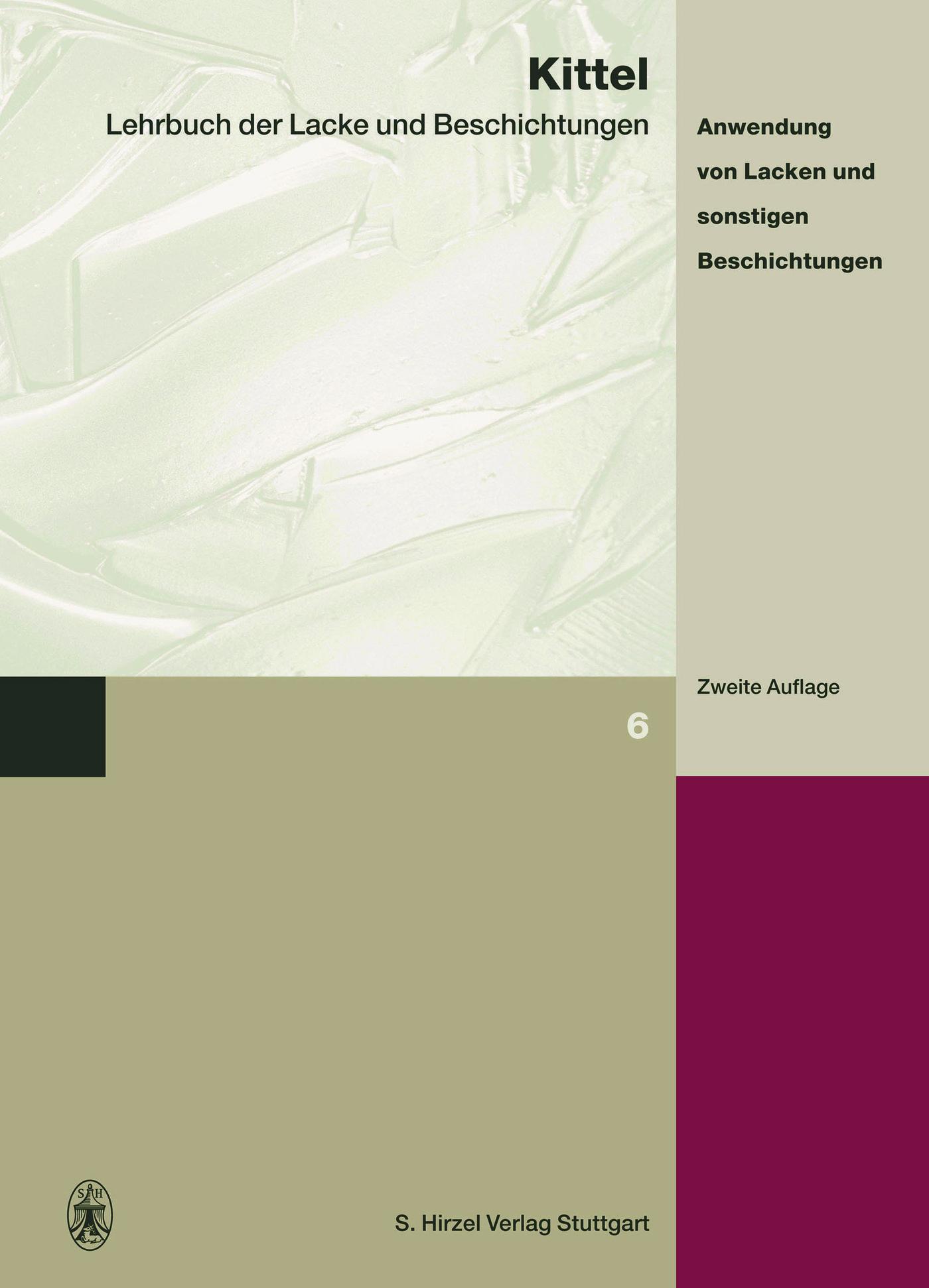 Cover für 'Lehrbuch der Lacke und Beschichtungen'