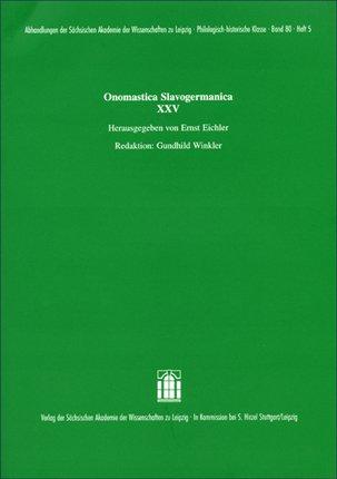 Onomastica Slavogermanica