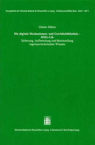 Cover für 'Die Digitale Mechanismen- und Getriebebibliothek – DMG-Lib'