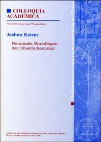 Cover für 'Neuronale Grundlagen der Objekterkennung'