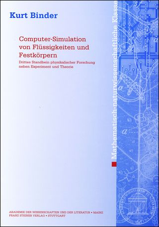 Cover für 'Computer-Simulation von Flüssigkeiten und Festkörpern'