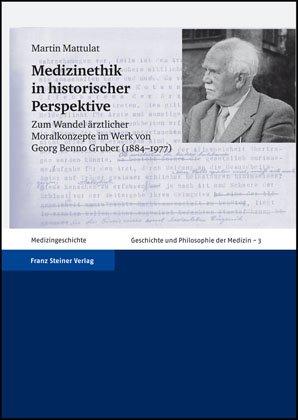 Cover für 'Medizinethik in historischer Perspektive'