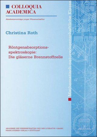Cover für 'Röntgenabsorptionsspektroskopie'