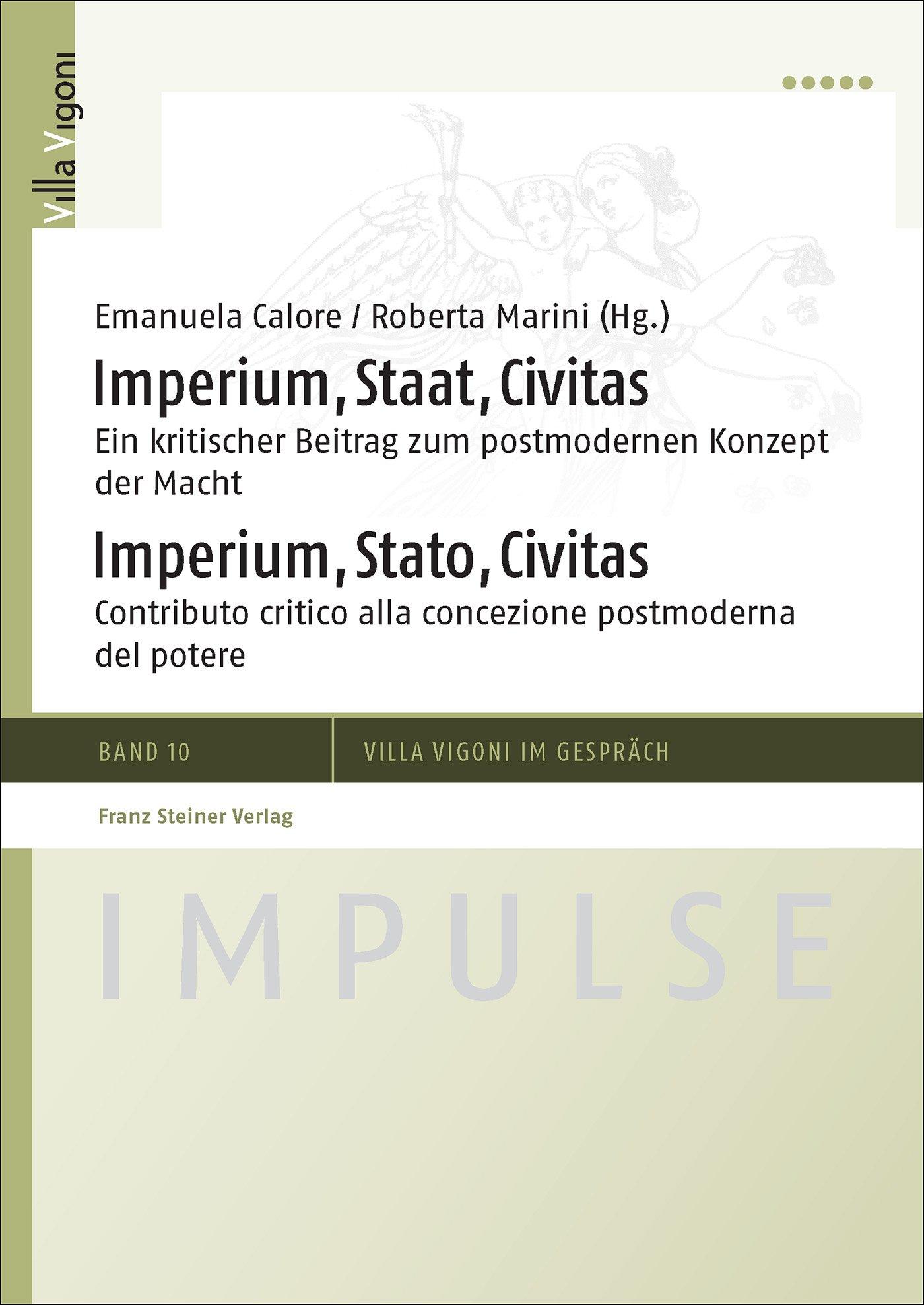 Cover für 'Imperium, Staat, Civitas / Imperium, Stato, Civitas'