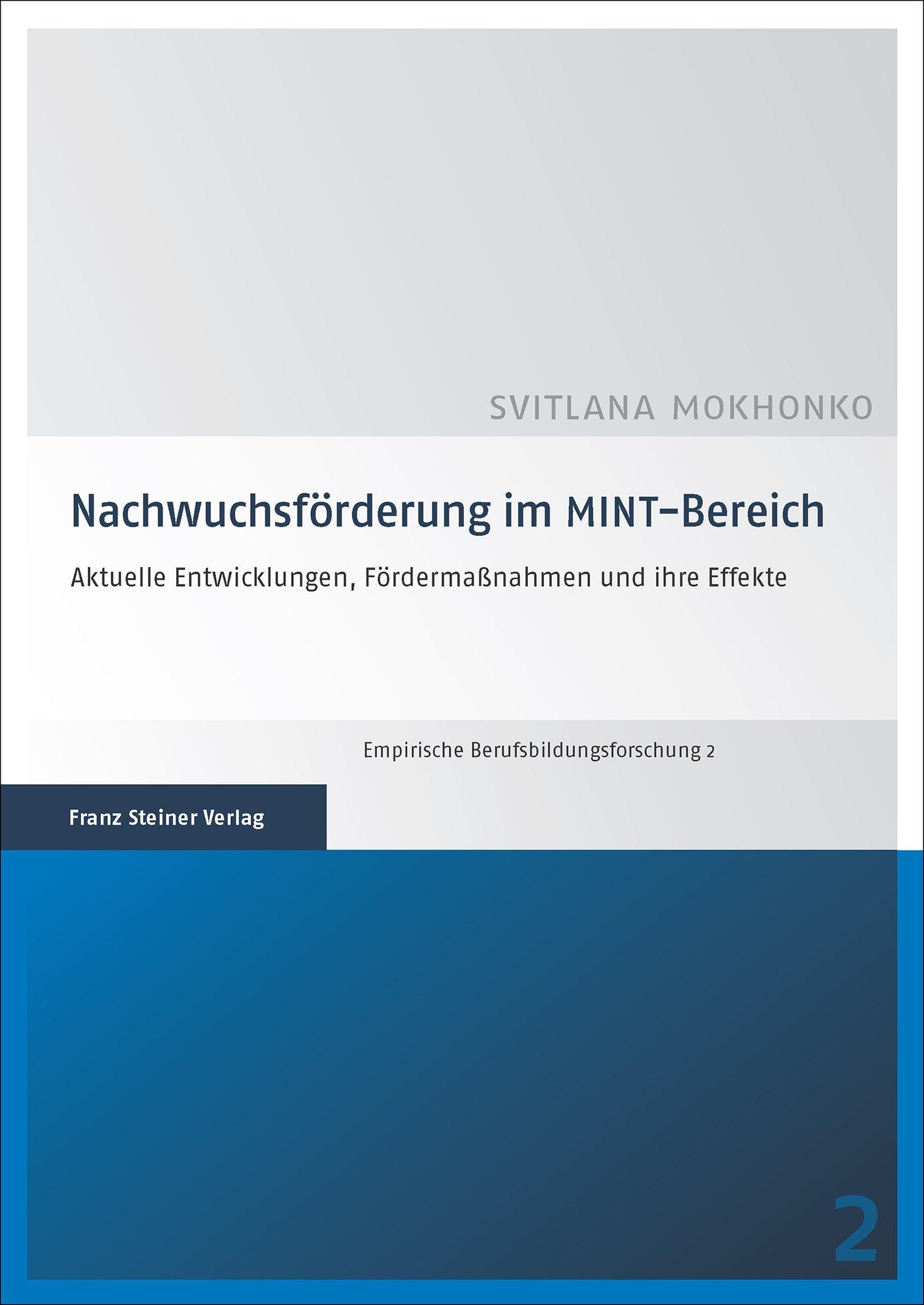 Cover für 'Nachwuchsförderung im MINT-Bereich'