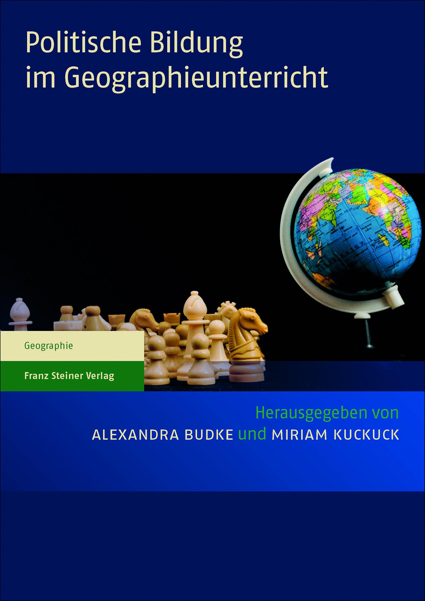 Cover für 'Politische Bildung im Geographieunterricht'