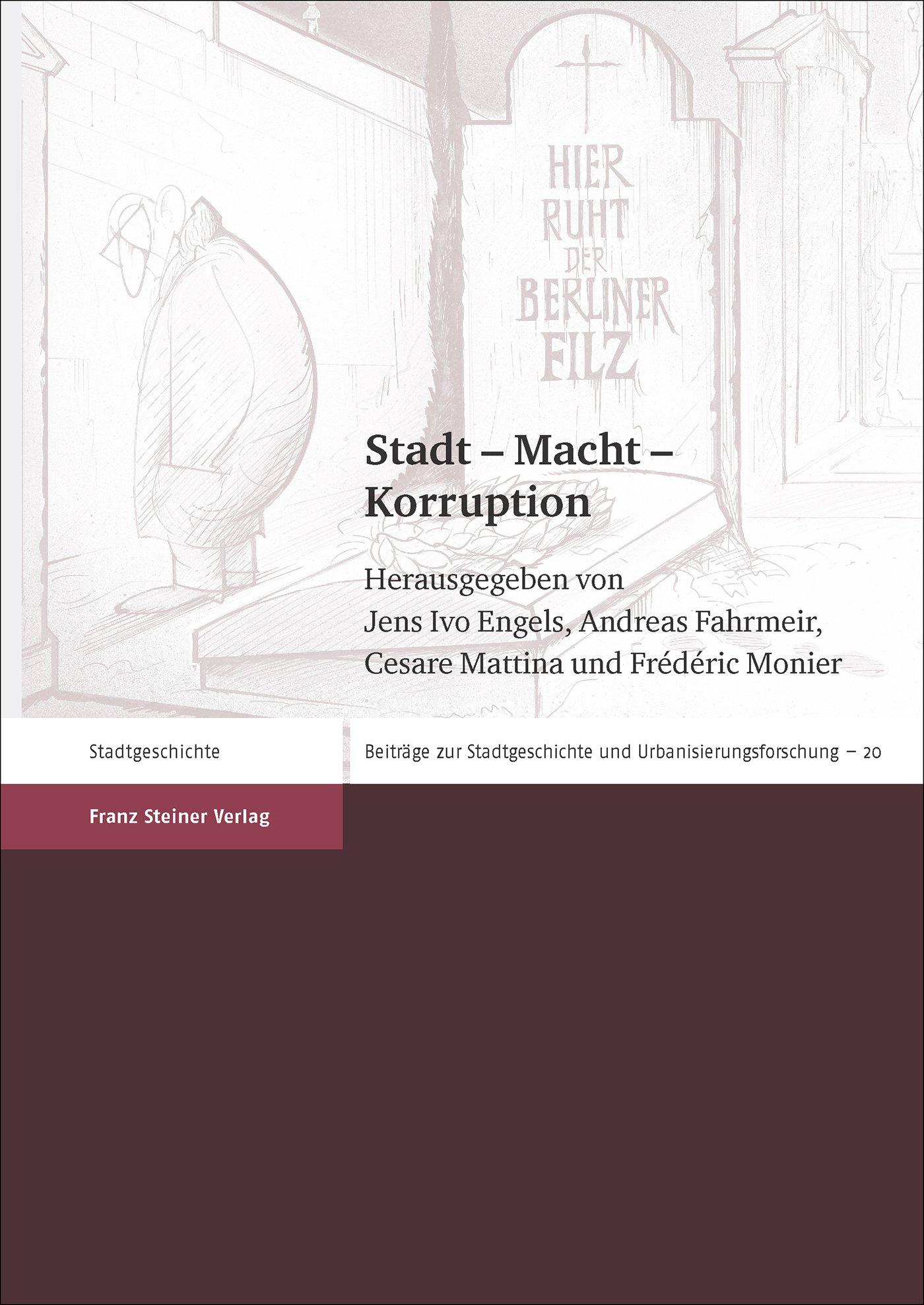 Cover für 'Stadt – Macht – Korruption'