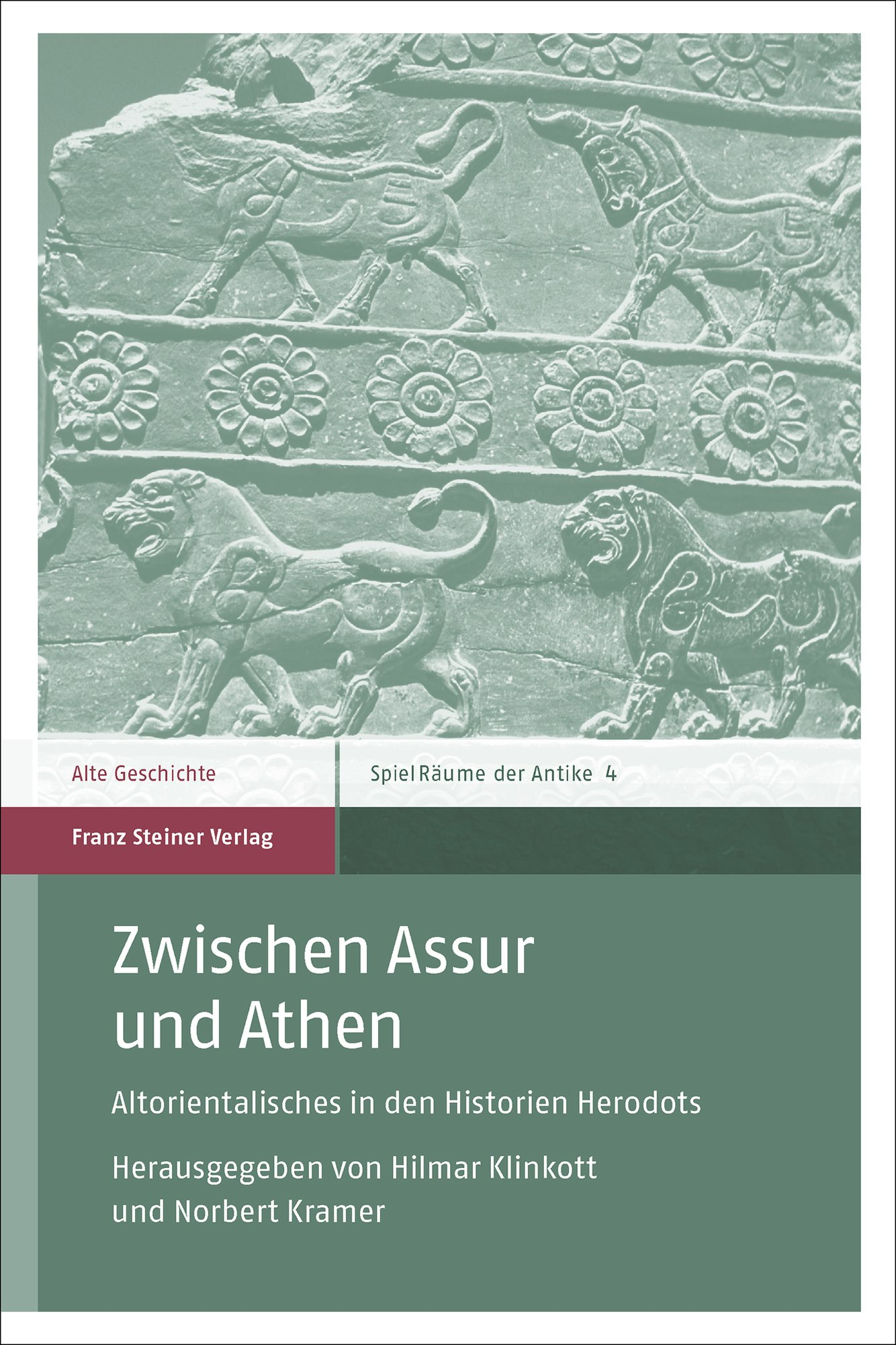 Cover für 'Zwischen Assur und Athen'