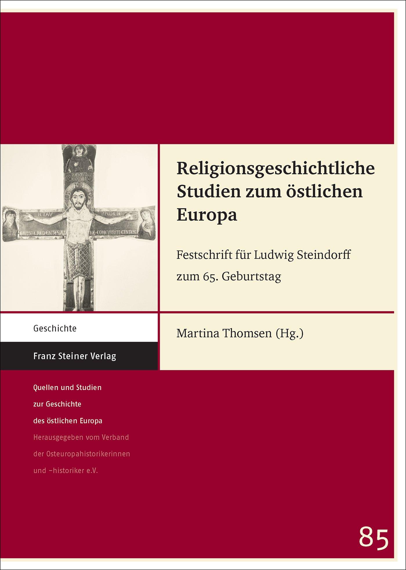 Cover für 'Religionsgeschichtliche Studien zum östlichen Europa'