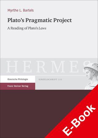 Cover für 'Plato's Pragmatic Project'