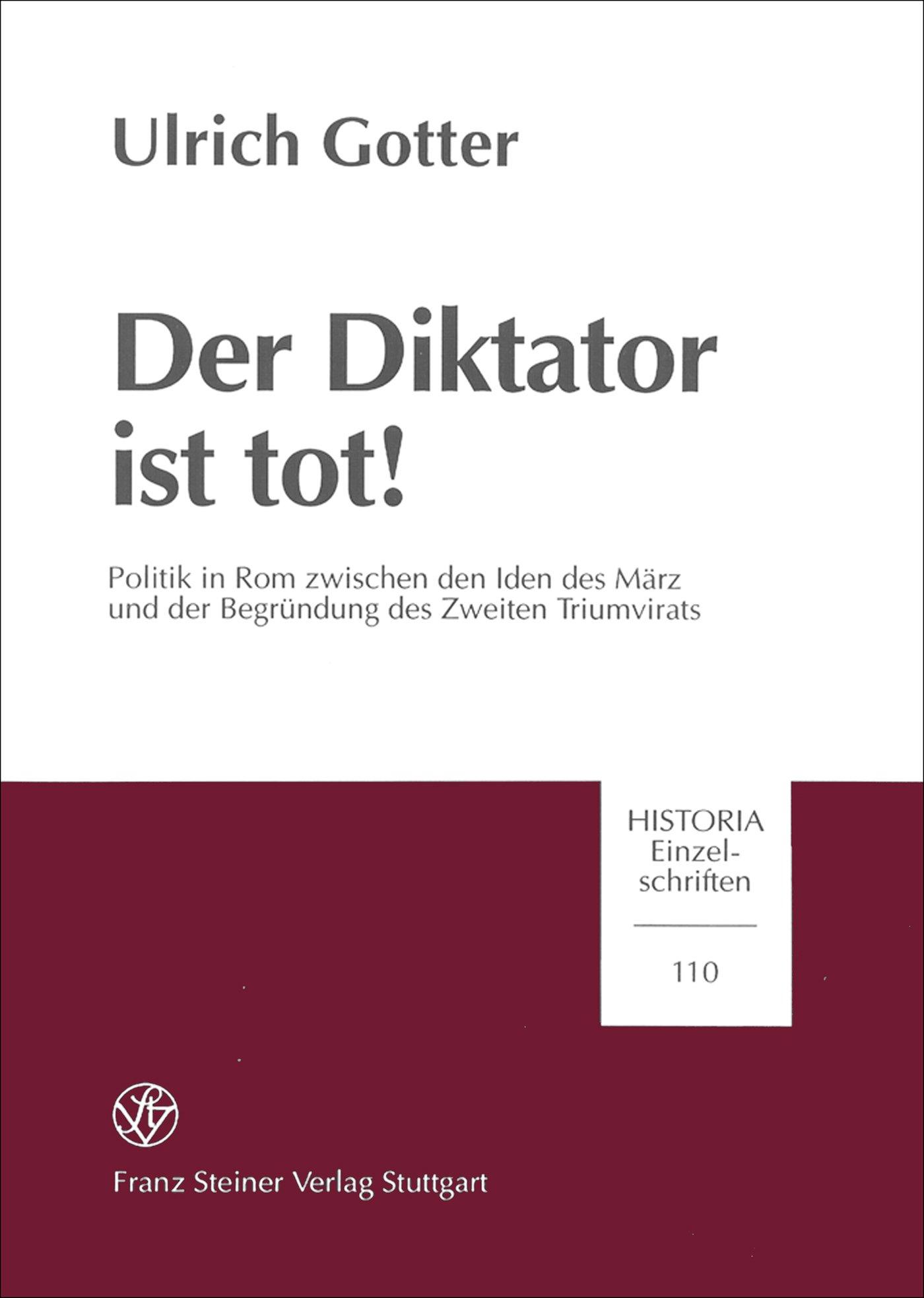 Cover für 'Der Diktator ist tot!'