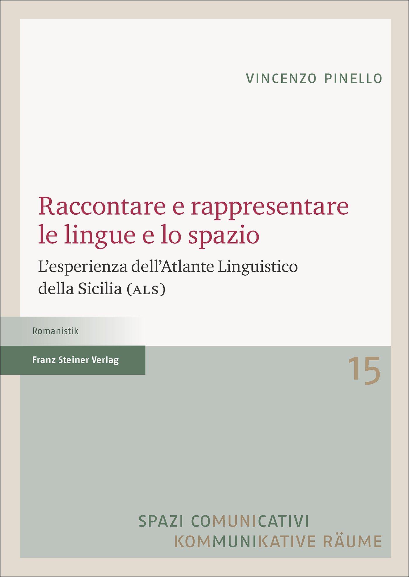 Cover für 'Raccontare e rappresentare le lingue e lo spazio'