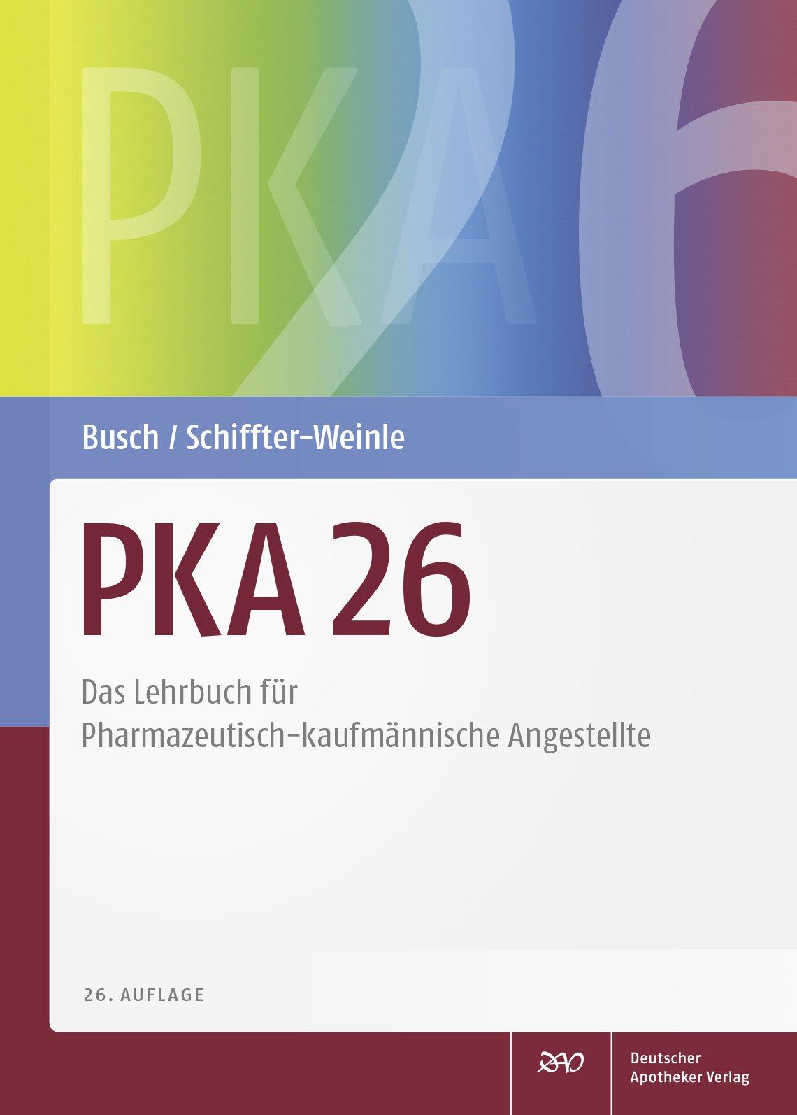 PKA 26 - Shop - Mediengruppe Deutscher Apotheker Verlag